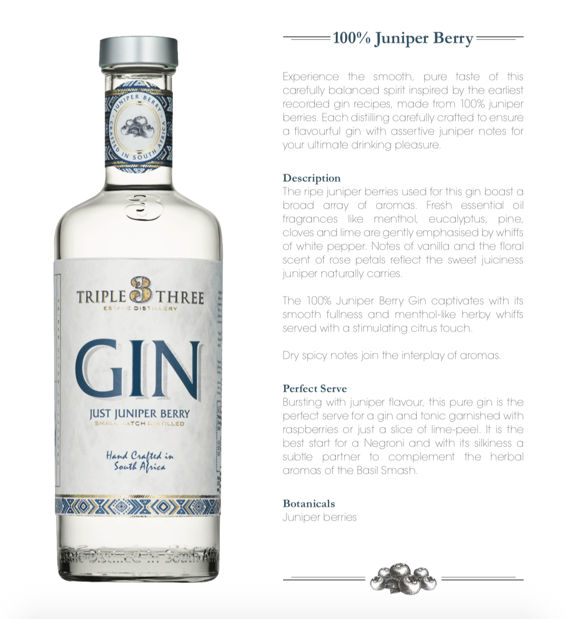 Just Juniper Berry Gin