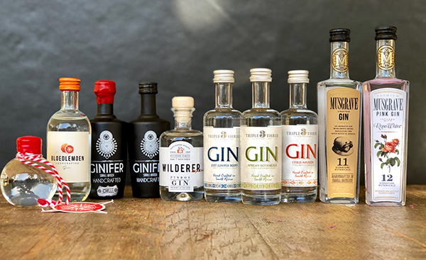 Craft Gin Miniatures | Triple Three Estate Distillery