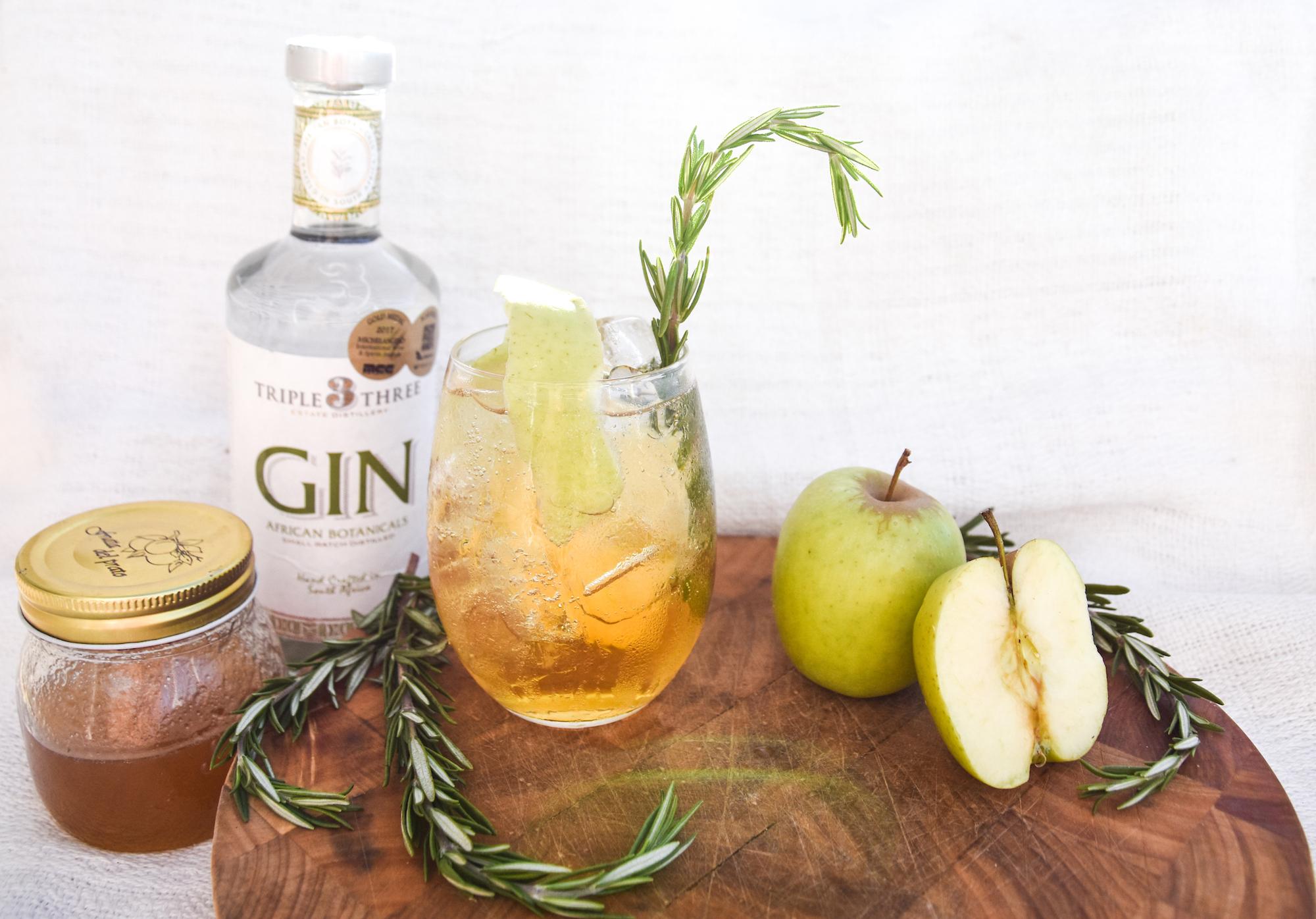 African Botanicals Apple Gin Cocktail