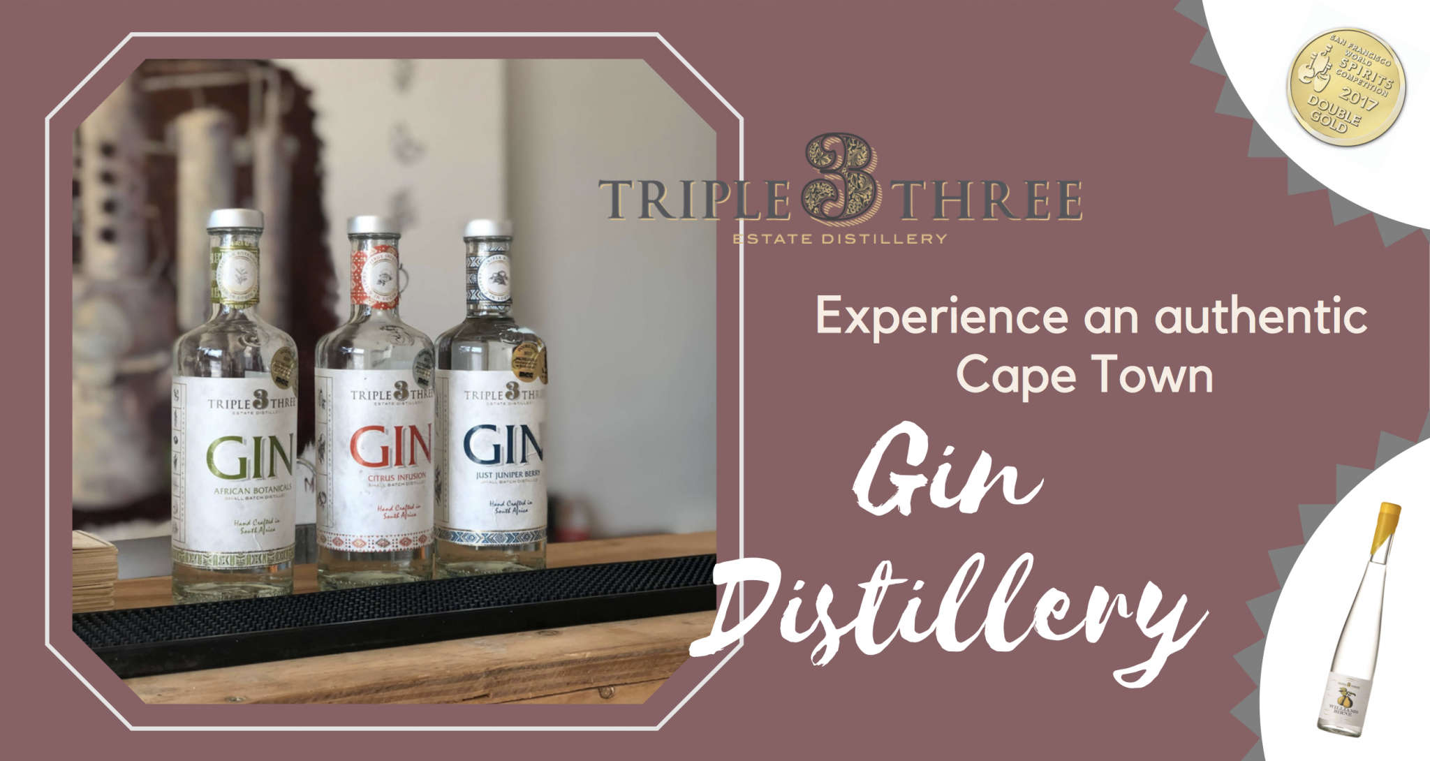 gin tasting triple three gin