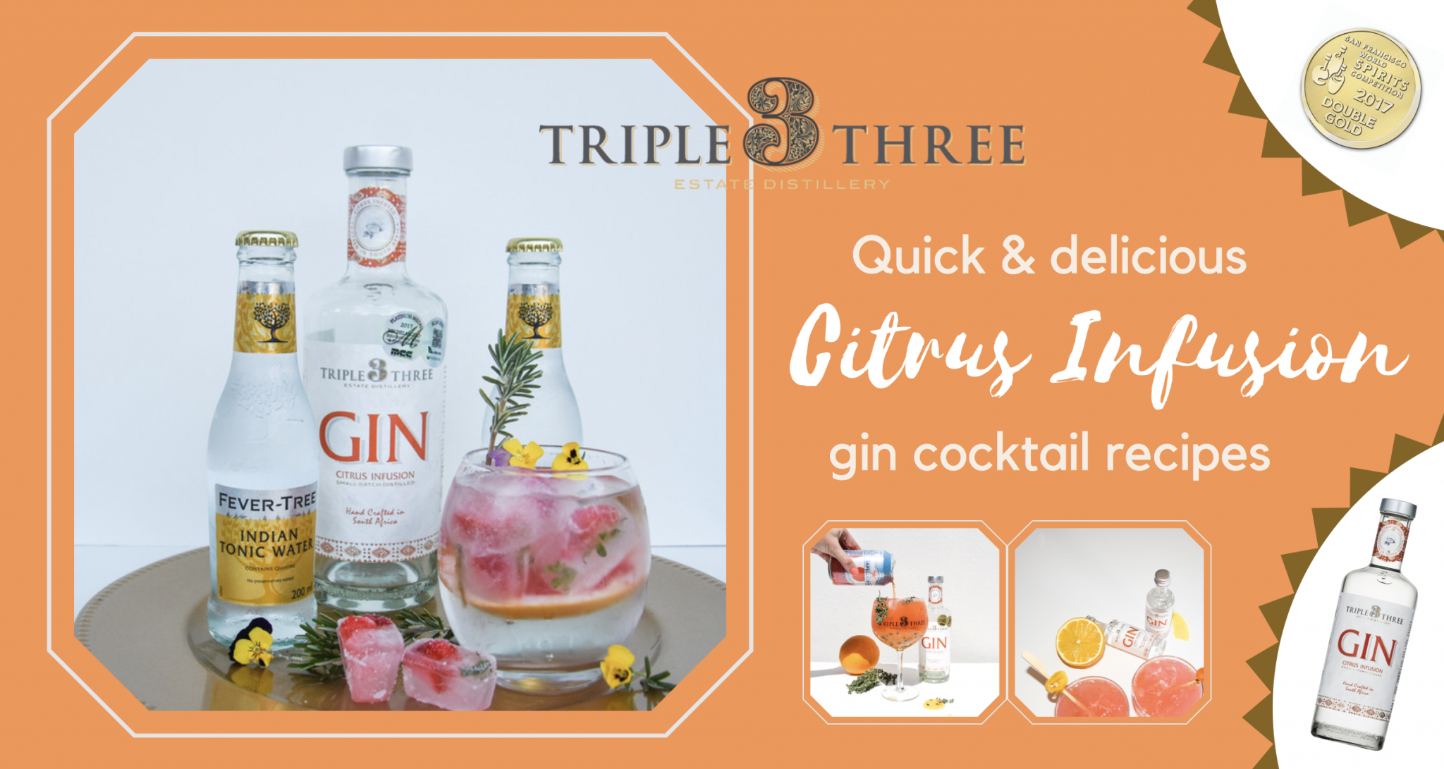 Citrus Infusion Gin Cocktail Recipes