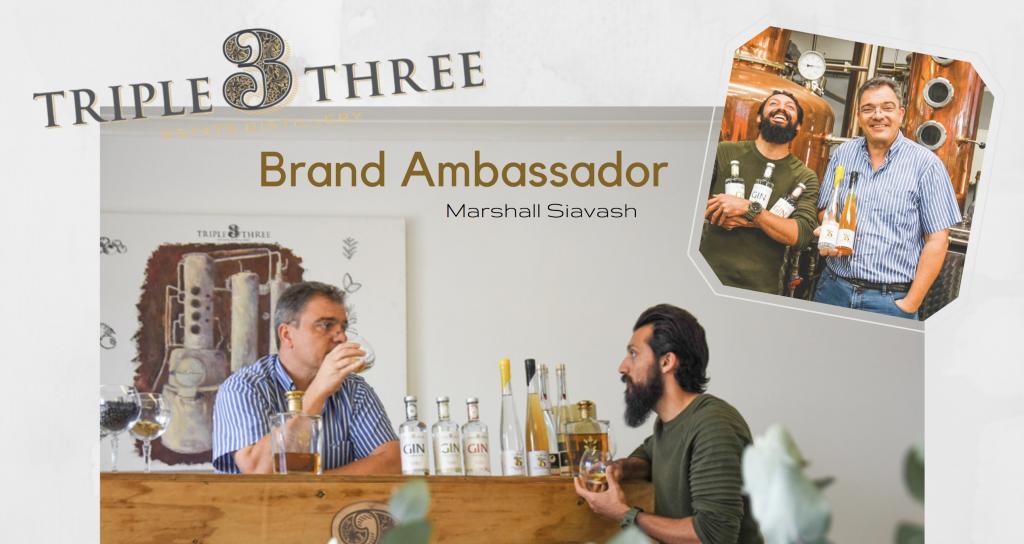 Triple Three Gin Brand Ambassador