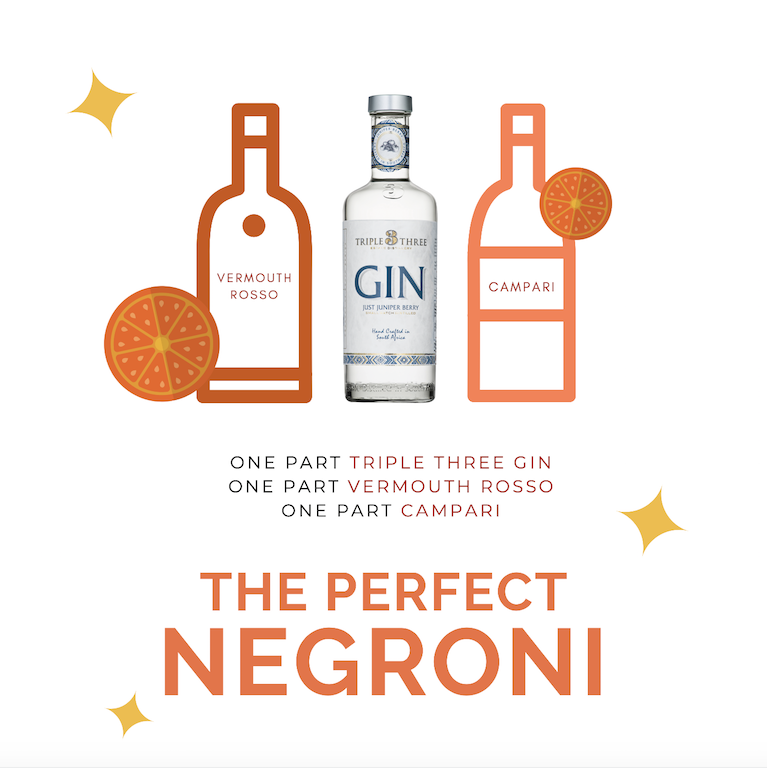 Gin Negroni Cocktail